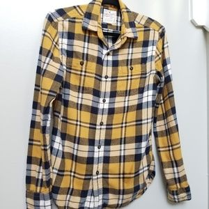 Men's American Eagle Classic Flannel Shirt Size XS